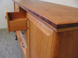 cherry_and_koa_wood_credenza_detail